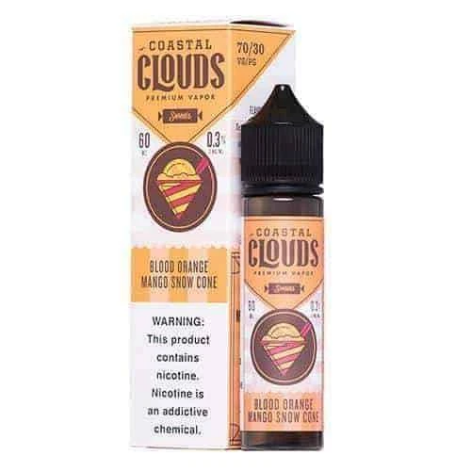 Coastal Clouds - Blood Orange Mango Snow Cone 60ml