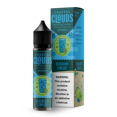 Coastal Clouds - Blueberry Limeade 60ml