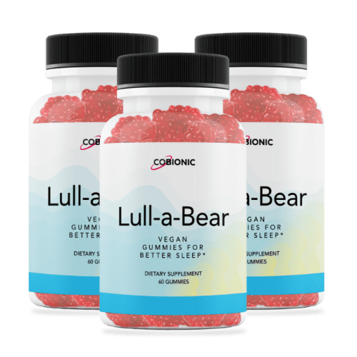 Introducing Lull-a-Bear...Everything you need for a great night's sleep … all in one tasty gummy