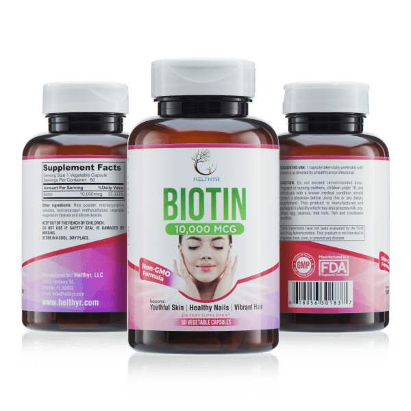 Introducing Biotin 10,000 mcg...A Powerful Once-A-Day Way To Strengthen And Protect Your Hair, Skin, And Nails