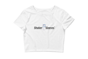 Shaker Sleeves Women's Crop Tee