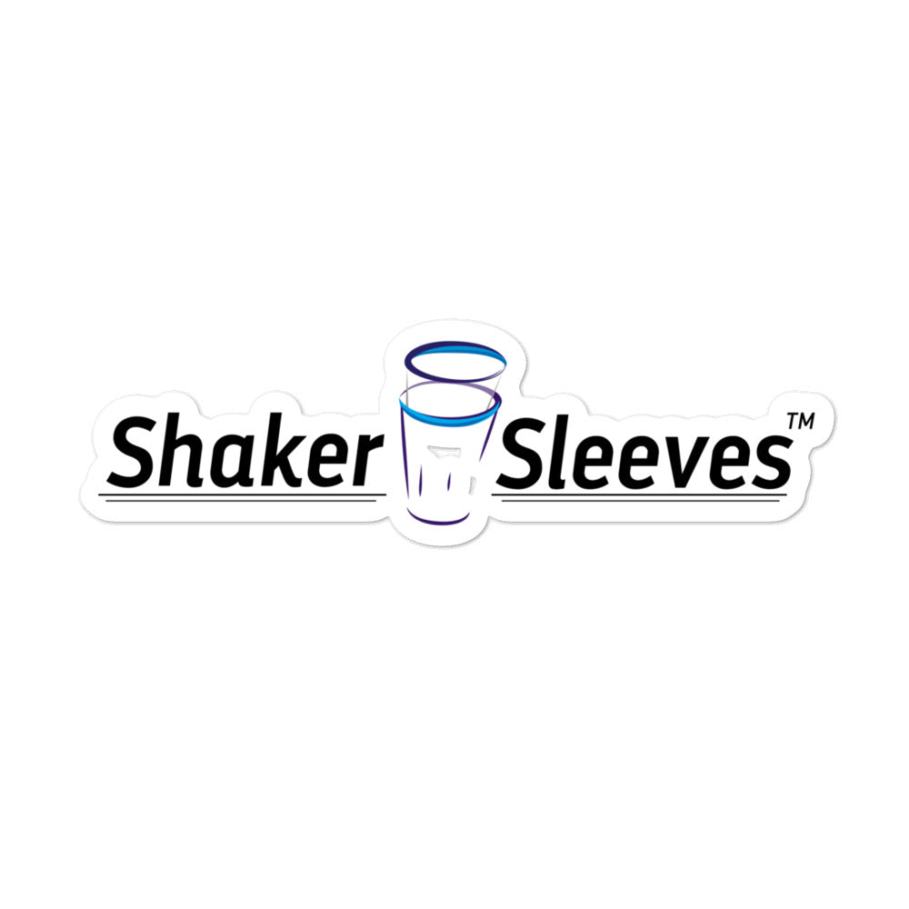 Shaker Sleeves Stickers