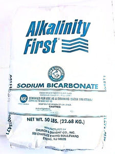 Alkalinity First™ Sodium Bicarbonate 50lb Bag