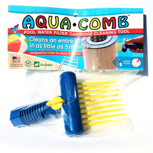 Aqua Comb Pool Water Filter Cartridge Cleaning Tool