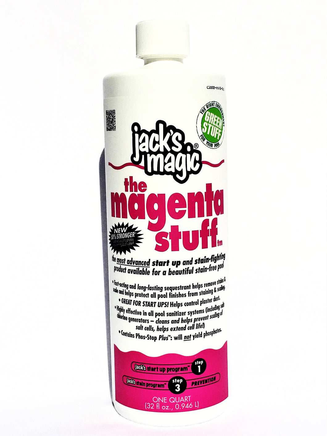 Jack's Magic The Magenta Stuff