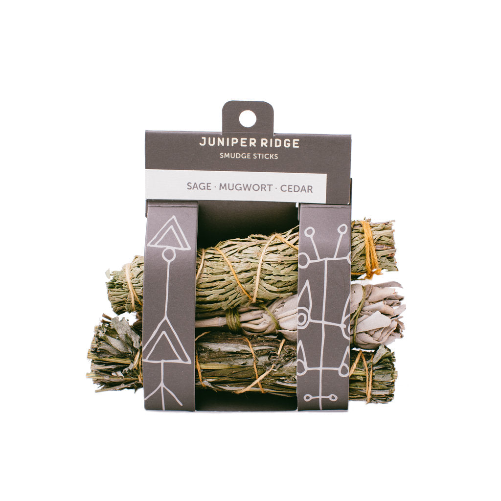 Sage/Mugwort/Cedar Smudge Sticks