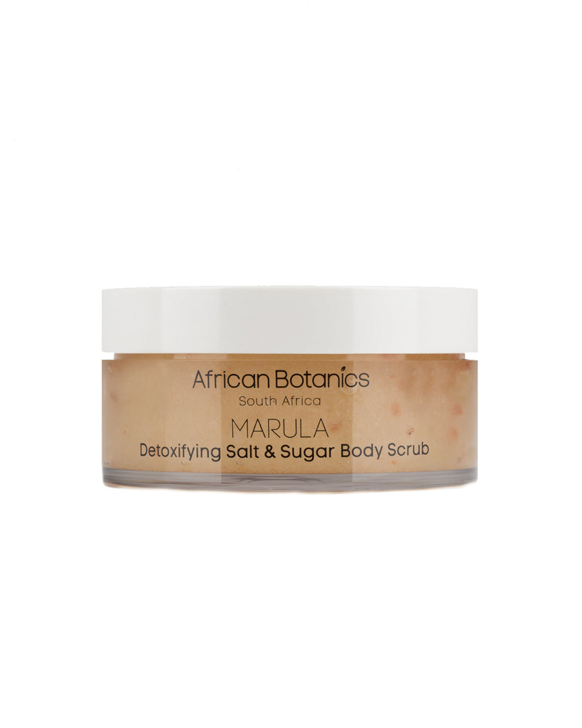 Marula Detoxifying Salt & Sugar Body Scrub