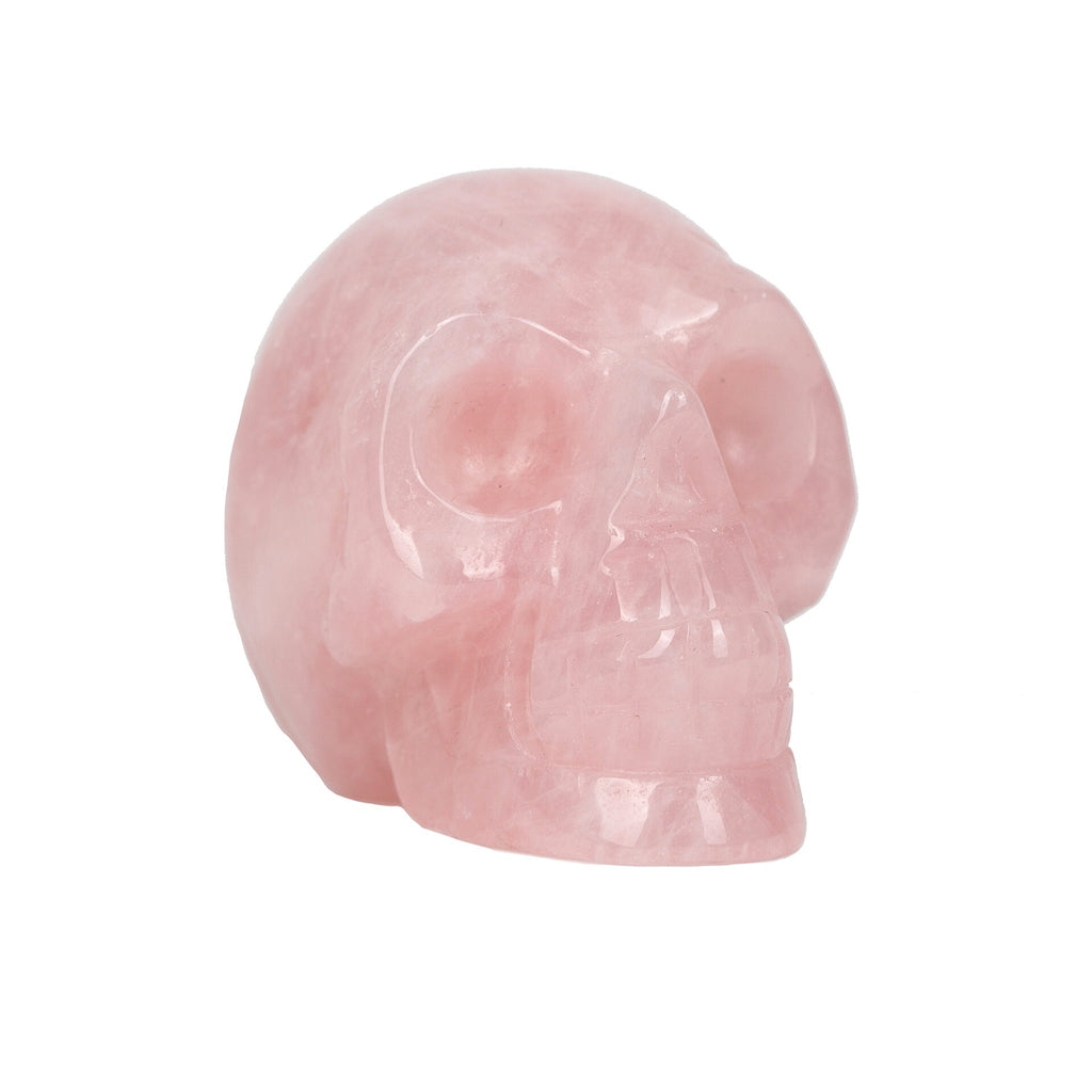 Rose Quartz Skull Crystal