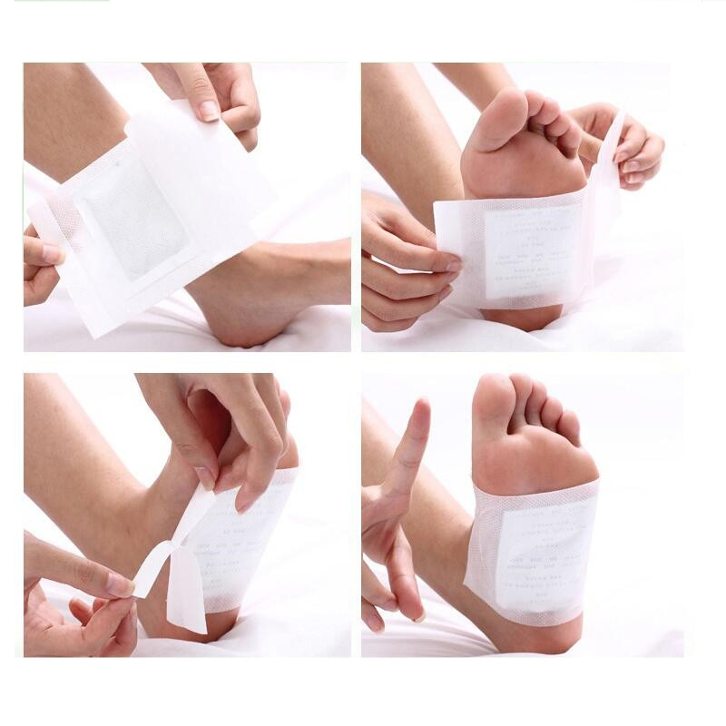 Foot Detox Pads (100 Pc. Patches + 100 Pc. Adhesives)