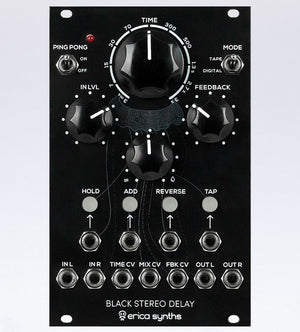 Erica Synths Black Delay