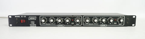 Ashly SC-22 Stereo 2-Way Electronic Crossover