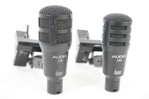 Audix F10 (x3) and F12 (x1) Set