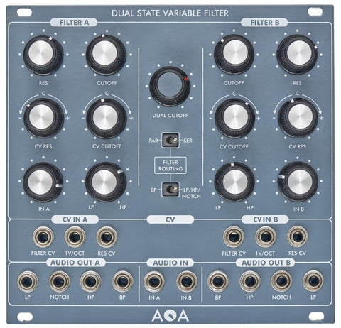 AQA Elektrix Dual 12 dB State Variable VCF
