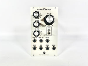 Synthesis Technology E580 Resampling Mini-Delay