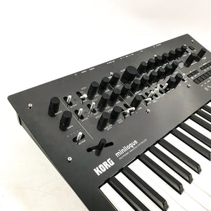 Korg Minilogue Limited Edition Polished Gray