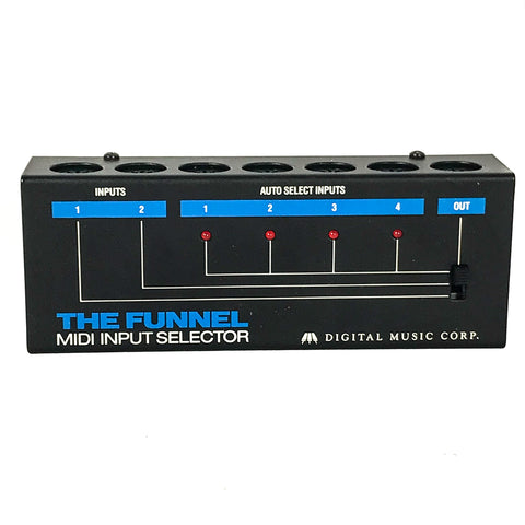 Digital Music Corp The Funnel Midi Input Selector