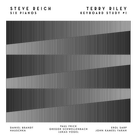 Steve Reich / Terry Riley ‎– Six Pianos / Keyboard Study # 1 (ETC634)