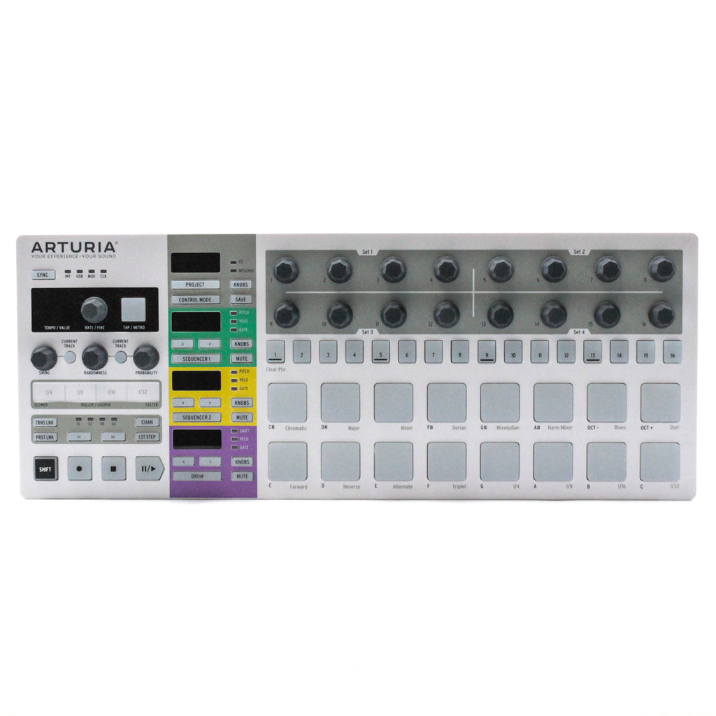 Switched On - Arturia BeatStep Pro MIDI, Trigger & CV Sequencer Controller