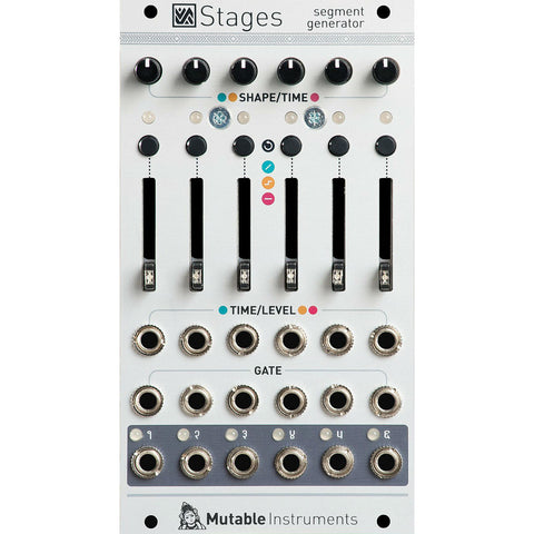 Switched On - Mutable Instruments Stages Segment Generator