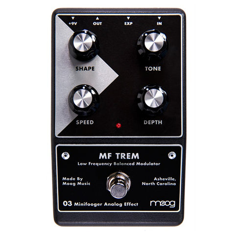Switched On - Moog Minifooger MF Trem v2 Minifooger Pedal