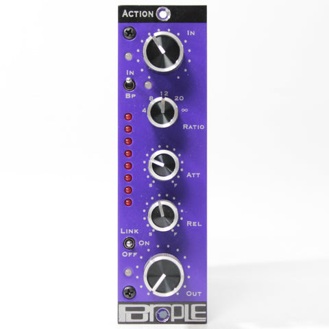 Switched On - Purple Audio Action 500 Series Compressor
