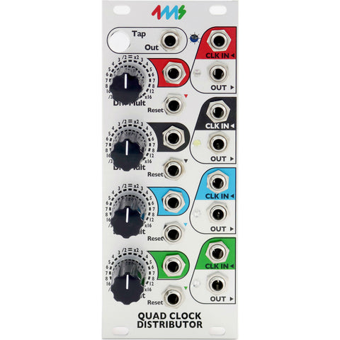 Switched On - 4MS Quad Clock Distributer QCD Eurorack Module