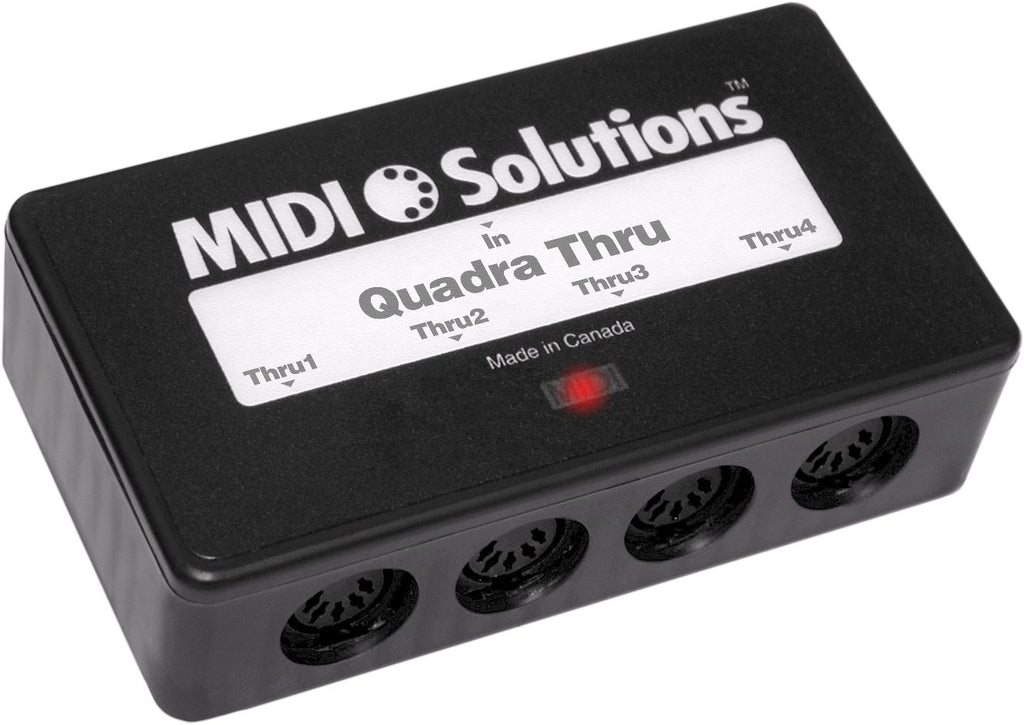 Switched On - MIDI Solutions Quadra Thru