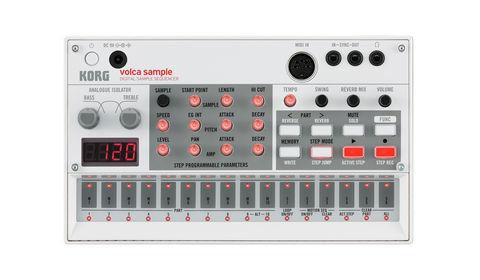 Switched On - Korg Volca Sample Sequencer Sampler