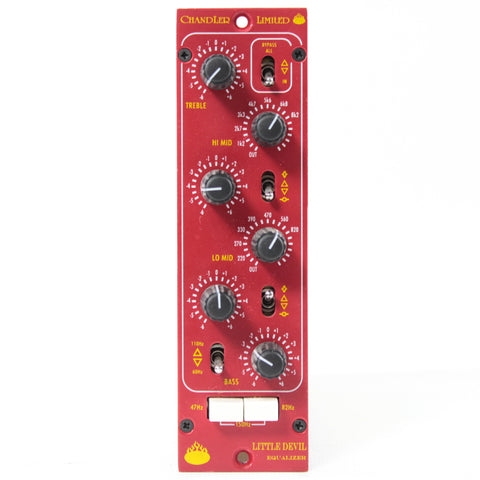 Switched On - Chandler Limited Little Devil 500 Series EQ