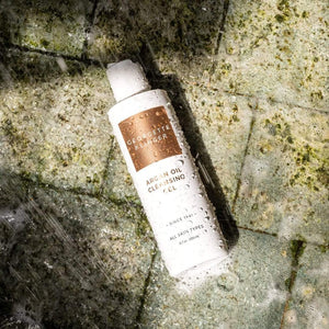 Argan Oil Cleansing Gel – Gently Deep Clean and Clarify Complexion