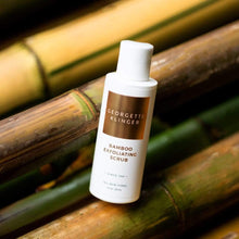 Load image into Gallery viewer, Bamboo Exfoliating Scrub - Gentle Gel Formula, Smoothes Skin Texture / Bamboo Face Scrubber