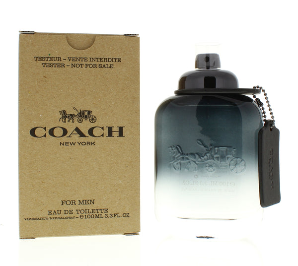 Coach New York for Men 3.4 Oz Edt Tester - Online Shopping Fragrances, Perfumes & Makeup Airdamour.com