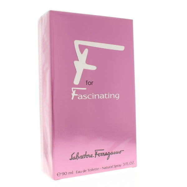 F for Fascinating by Ferragamo 3 Oz Eau De Toilette for Women - Online Shopping Fragrances, Perfumes & Makeup Airdamour.com