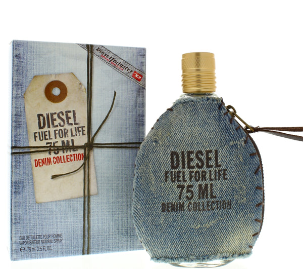 Diesel Fuel for Life Denim Collection for Men 2.5 Oz Edt - Airdamour.com