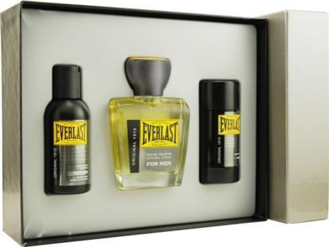 Everlast Original by Everlast for Men. Set-Eau De Toilette Spray 3.3-Ounces & Deodorant Stick 2.5-Ounces & Hair And Body Shampoo 3.3-Ounces