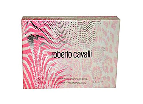 Roberto Cavalli Gift Set EDP Spray 0.5 oz  + EDP Refill 0.5