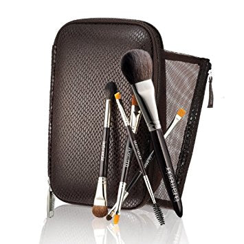 "Laura Mercier Deluxe 5 pieceTravel Brush Set plus Brush Case8.25""x5""x1.5"" - Online Shopping Fragrances, Perfumes & Makeup Airdamour.com"