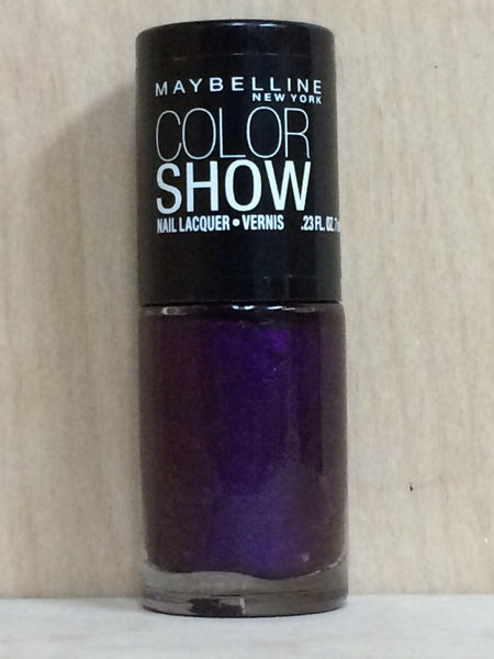 3 PACK Maybelline Color Show Nail Lacquer Polish PLUM PARADISE 280 - Airdamour.com