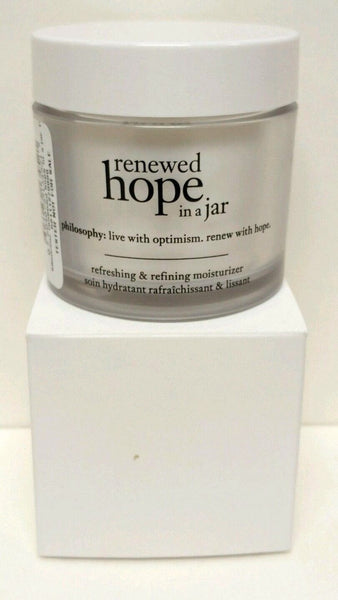 PHILOSOPHY Renewed Hope In A Jar Refining Moisturizer 2oz Sealed Tester - Online Shopping Fragrances, Perfumes & Makeup Airdamour.com
