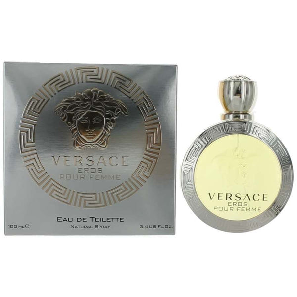 Versace Eros by Versace 3.4 oz / 100 ml EDT Spray Perfume for Women - Online Shopping Fragrances, Perfumes & Makeup Airdamour.com