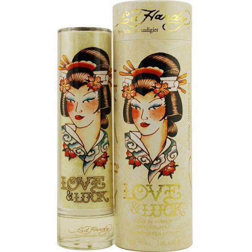 ED HARDY Love & Luck by Christian Audigier 3.4 edp Perfume  - Woman - Online Shopping Fragrances, Perfumes & Makeup Airdamour.com
