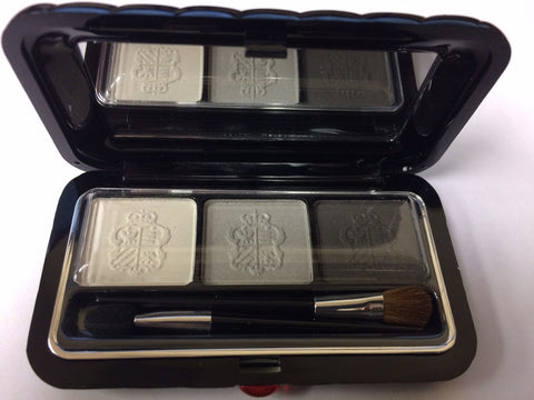 Borghese eye shadow milano trio  IL Bacio gray - Online Shopping Fragrances, Perfumes & Makeup Airdamour.com