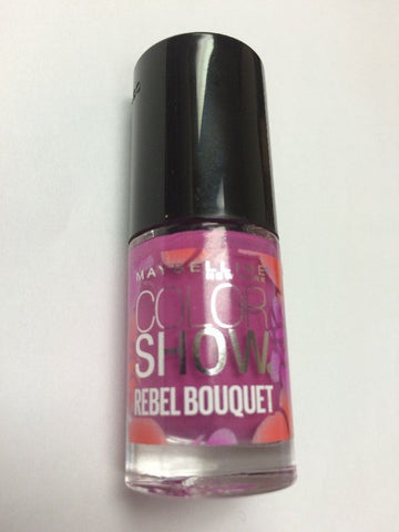 3 PACK MAYBELLINE Color Show REBEL BOUQUET Nail Polish FIERY TULIP (B0025) - Airdamour.com