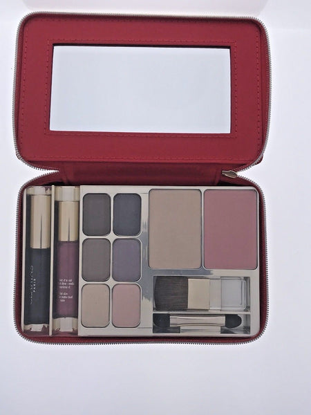 Clarins Make-Up Palette Travel Exclusive Mascara Eyeshadow Blush Powder Compact - Online Shopping Fragrances, Perfumes & Makeup Airdamour.com