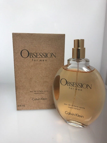 Obsession by Calvin Klein EDT for Men 4.0 oz / 125 ml