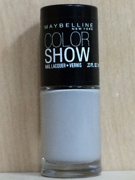 3 PACK Maybelline Color Show Nail Lacquer Polish Audacious Asphalt 390 - Airdamour.com