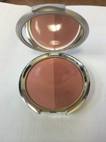 "Kirkland By BORGHESE Tawny Peach BLUSH DUO POWDER"" SHEER SATIN"