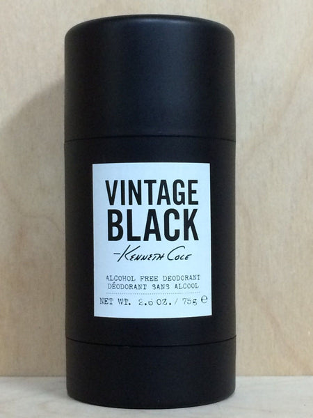 Vintage Black by Kenneth Cole MEN 2.6 oz DEODORANT STICK Unboxed - Online Shopping Fragrances, Perfumes & Makeup Airdamour.com