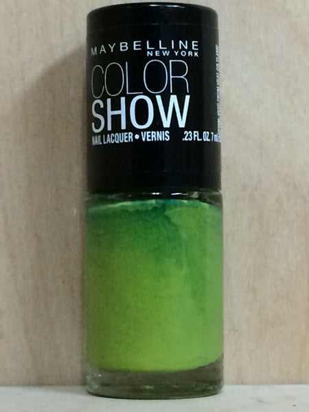 3 PACK Maybelline Color Show Nail Lacquer Polish GO GO GREEN 340 (B0075) - Online Shopping Fragrances, Perfumes & Makeup Airdamour.com