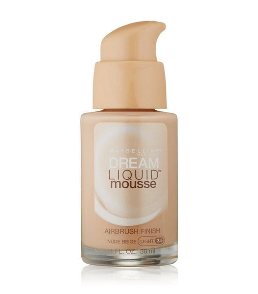 Maybelline Dream Liquid Mousse Airbrush, Nude Beige, Light #3.5 - Online Shopping Fragrances, Perfumes & Makeup Airdamour.com